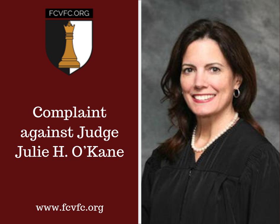 Complaint against Judge Julie H. O'Kane